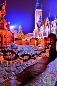 Prosinec-Olomouc - Horní náměstí Foto Irena Talpová